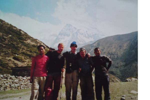 Annapurna trek with Erik