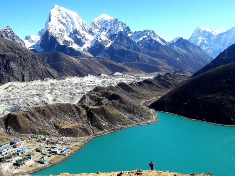 Everest base camp trek via Gokyu lake